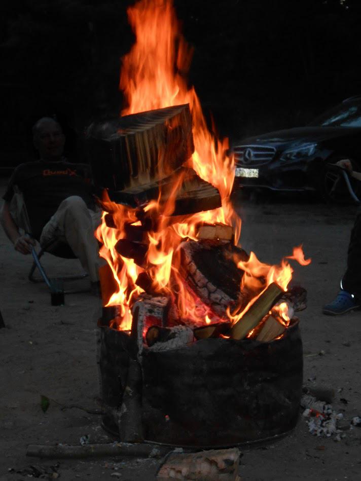 Wie man richtig Feuer macht