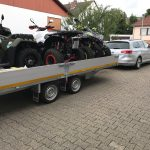 QUAD & ATV Urlaub - Der riesen Anhänger